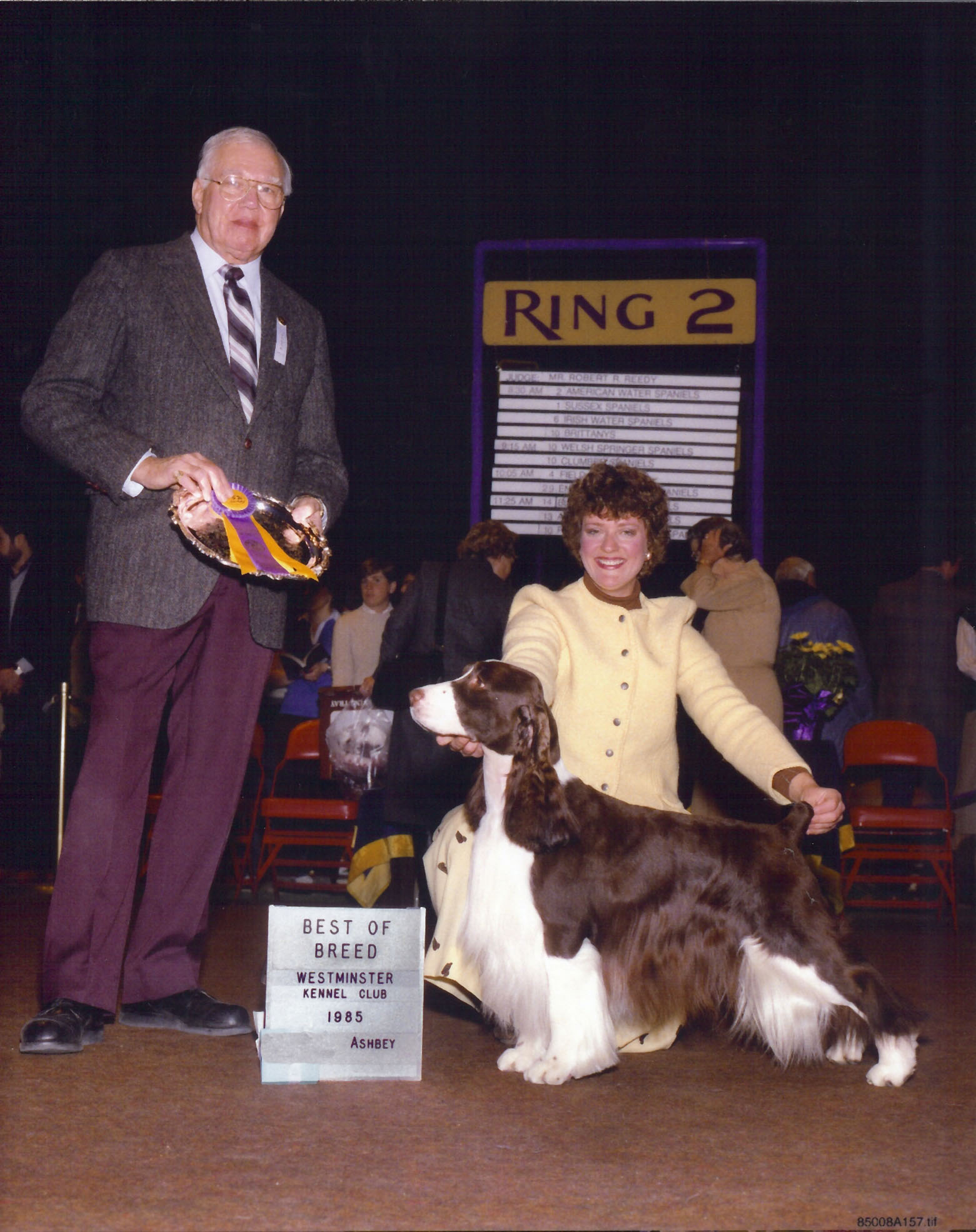 Best of Breed - Westminster Kennel Club 1985