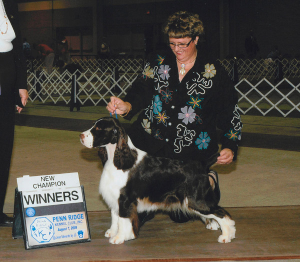 Deb finished her AKC Championship in 2009